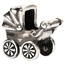Buy Trollbeads Sterling Silver Baby Buggy Bead Online at johnlewis.com