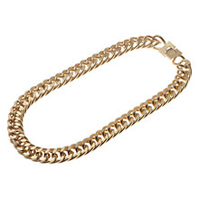 Buy Adele Marie Chunky Chain Necklace, Gold Online at johnlewis.com