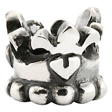 Buy Trollbeads Sterling Silver Prince & Princess Bead Online at johnlewis.com