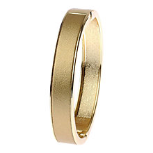 Buy Adele Marie Faux Leather Hinged Bangle Online at johnlewis.com