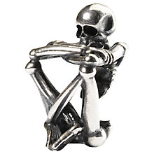 Buy Trollbeads Sterling Silver Skeleton Spirit Bead Online at johnlewis.com