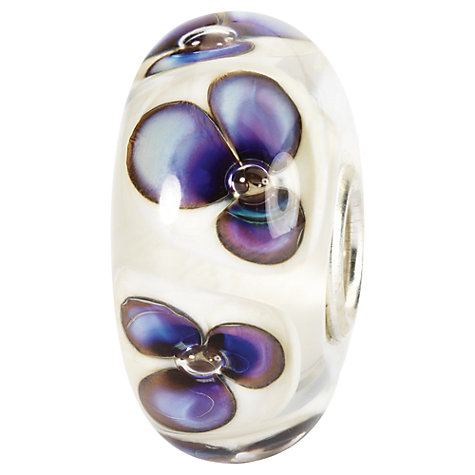 Buy Trollbeads Violets Glass Bead Online at johnlewis.com