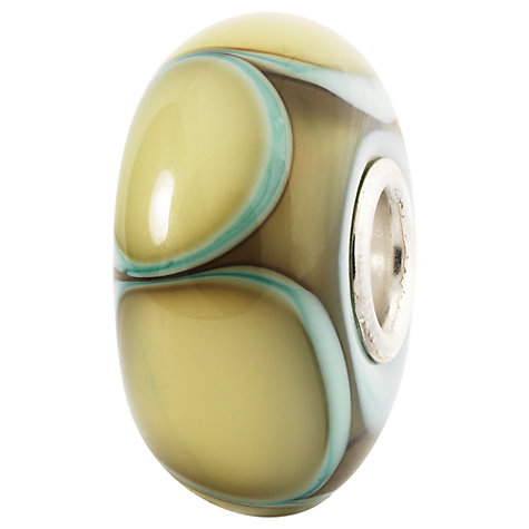Buy Trollbeads Aqua Edge Petals Glass Bead Online at johnlewis.com