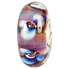 Buy Trollbeads Aurora Flowers Glass Bead, Multi Online at johnlewis.com