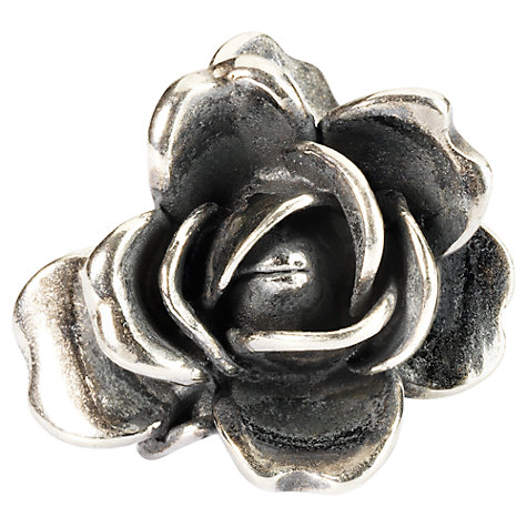 Buy Trollbeads Sterling Silver Rose of June with Pearl Bead Online at johnlewis.com
