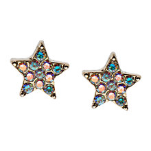 Buy Orelia Gold Sparkle Star Stud Earrings Online at johnlewis.com