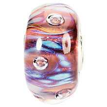 Buy Trollbeads Moonlight Bubble Glass Bead, Multi Online at johnlewis.com