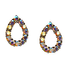 Buy Orelia Open Teardrop Earrings Online at johnlewis.com