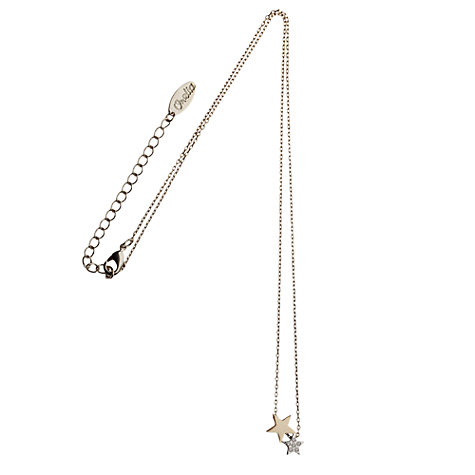 Buy Orelia Double Star Pendant, Gold Online at johnlewis.com