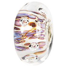 Buy Trollbeads Rippling Bubbles Glass Bead, Ivory Online at johnlewis.com