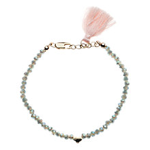 Buy Orelia Gold/Blue Sparkle Bracelet Online at johnlewis.com