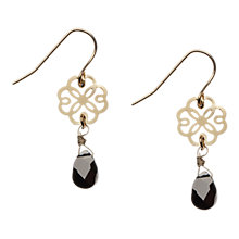 Buy Orelia Filigree Flower Drop Earrings Online at johnlewis.com