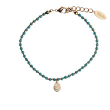 Buy Orelia Turquoise Teardrop Spacer Bracelet Online at johnlewis.com