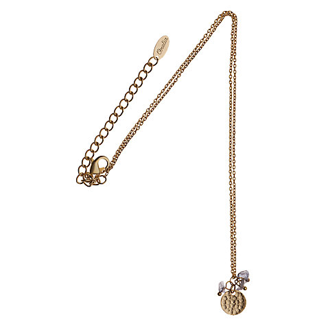Buy Orelia Coin & Bead Pendant Necklace, Blue Online at johnlewis.com