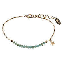 Buy Orelia Gold/Opal Star Chain Bracelet Online at johnlewis.com