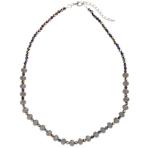 Buy John Lewis Mini Faceted Crystal Necklace Online at johnlewis.com