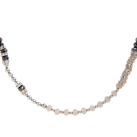 Buy John Lewis Mixed Bead Necklace, Long Online at johnlewis.com