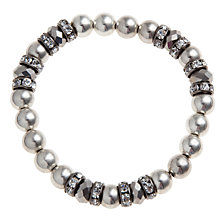 Buy John Lewis Silver Ball Charm Bracelet Online at johnlewis.com