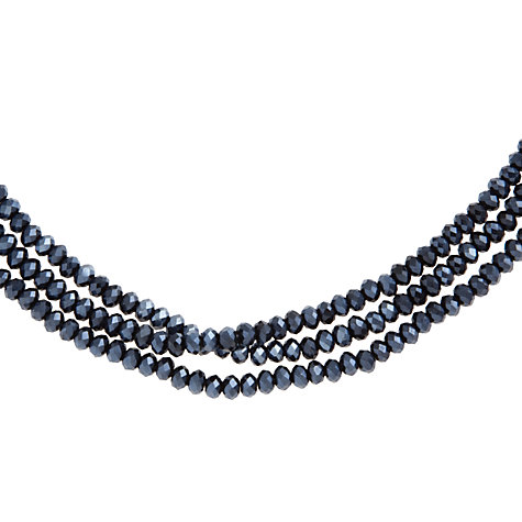 Buy John Lewis Three Row Sparkle Necklace Online at johnlewis.com