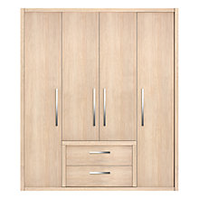Buy Leben 4-Door Wardrobe with Drawers Online at johnlewis.com