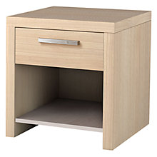 Buy Leben Bedside Table with Drawer, 60cm Online at johnlewis.com