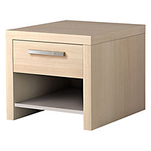 Buy Leben Bedside Table with Drawer, 50cm Online at johnlewis.com