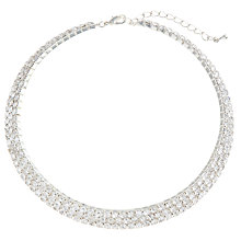 Buy John Lewis Triple Diamante Collar Online at johnlewis.com