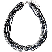 Buy John Lewis Multi Layer Necklace, Black Online at johnlewis.com