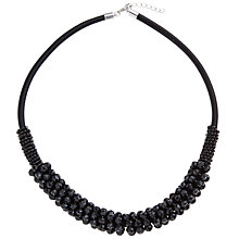 Buy John Lewis Cluster Tube Necklace Online at johnlewis.com