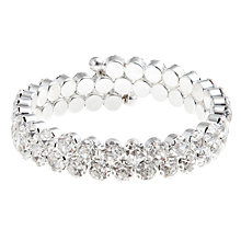 Buy John Lewis Chunky Spiral Bangle, Silver Online at johnlewis.com
