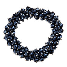 Buy John Lewis Stretch Cluster Bracelet, Navy Online at johnlewis.com