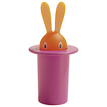 Buy Alessi Magic Bunny Toothpick Holder, Black Online at johnlewis.com