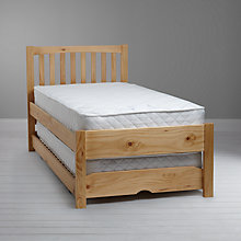 Buy John Lewis The Basics Woodstock Guest Bed, Pine Online at johnlewis.com
