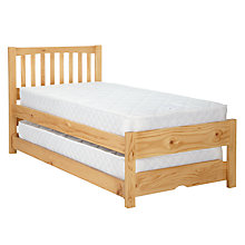 Buy John Lewis The Basics Woodstock Guest Bed Online at johnlewis.com