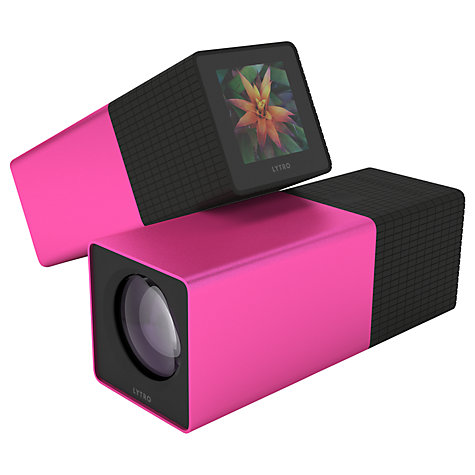 "Buy Lytro Light Field Camera, 11 Megarays, 8x Optical Zoom, Wi-Fi, 8GB, 1.46"" Touch Screen Online at johnlewis.com"