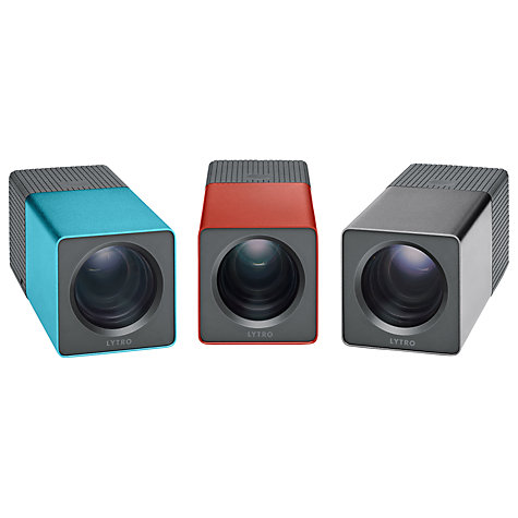 "Buy Lytro Light Field Camera, 11 Megarays, 8x Optical Zoom, Wi-Fi, 16GB, 1.46"" Touch Screen, Red Hot Online at johnlewis.com"