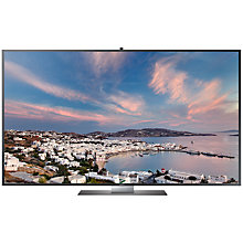 "Buy Samsung UE55F9000 LED 4K Ultra HD 3D Smart TV, 55"" with Freeview/Freesat HD and 2x 3D Glasses Online at johnlewis.com"