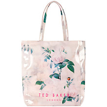 Buy Ted Baker Printed Ikon Shopper Handbag Online at johnlewis.com