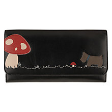 Buy Radley In The Glade Large Triple Fold Wallet, Black Online at johnlewis.com