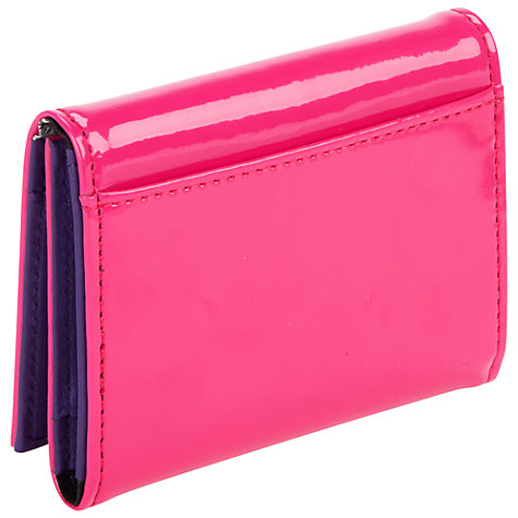 Buy Ted Baker Blinka Patent Leather Card Holder Online at johnlewis.com