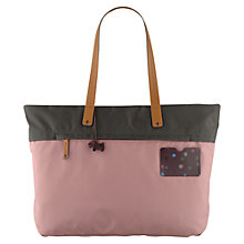 Buy Radley Dot Pocket Large Zip Top Tote Bag, Pink Online at johnlewis.com
