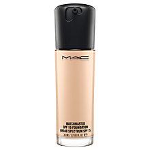 Buy MAC Matchmaster SPF 15 Foundation Online at johnlewis.com