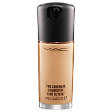 Buy MAC Pro Longwear SPF 10 Foundation Online at johnlewis.com