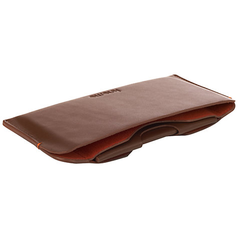 Buy Knomo Leather Sleeve with Card Case for iPhone 5 & 5s Online at johnlewis.com