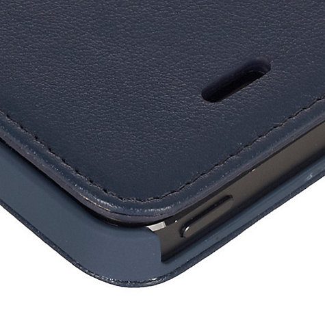 Buy Knomo Leather Folio for iPhone 5 & 5s Online at johnlewis.com