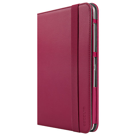 Buy Incase Book Jacket for Samsung Galaxy Tab 3 10.1, Cranberry Online at johnlewis.com