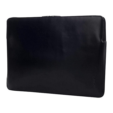"Buy Knomo Leather Sleeve for 15"" MacBook Pro Online at johnlewis.com"