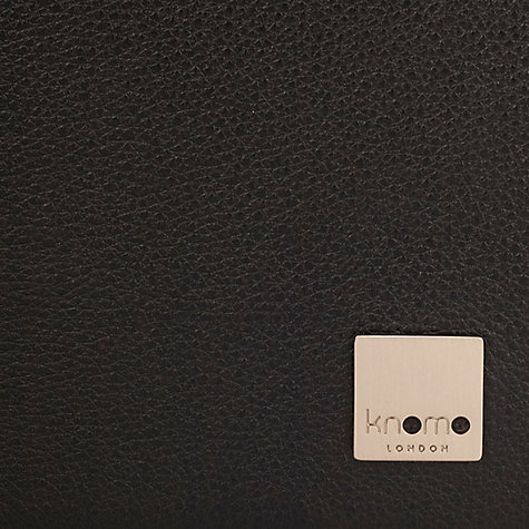 Buy Knomo Premium Leather Folio for iPad Air, Black Online at johnlewis.com