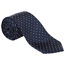 Buy Hardy Amies Silk Polka Dot Tie Online at johnlewis.com