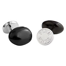Buy Thomas Pink Pebble Cufflinks Online at johnlewis.com